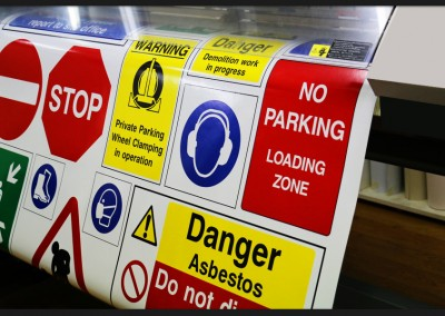 Health and safety labels, decals, stickers and signs of all types and sizes providing a complete tailor made solution to meet your HSE requirements